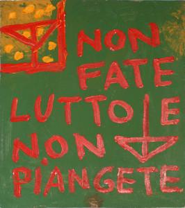 """PRIMA CADUTA DI CRISTO, 11450, da """"il Teologo"""" (Rep. due)."""