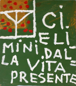 """CRISTO E' INCHIODATO IN CROCE CON GLI ALTRI DUE CONDANNATI, 11519, da """"il Teologo"""", (Rep. due)."""